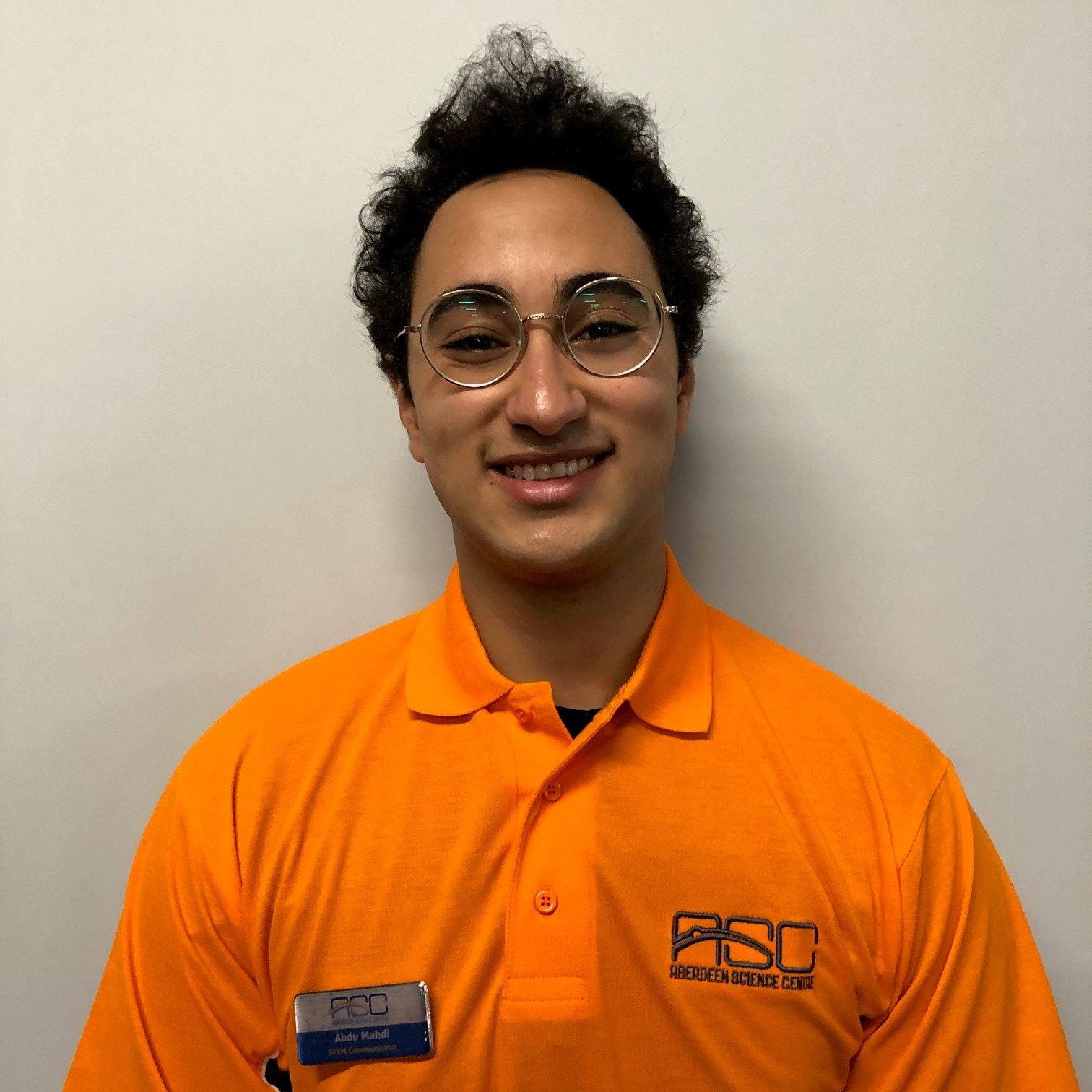 Staff member, Adam.